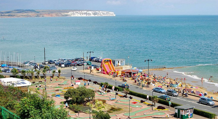 Shanklin in summertime